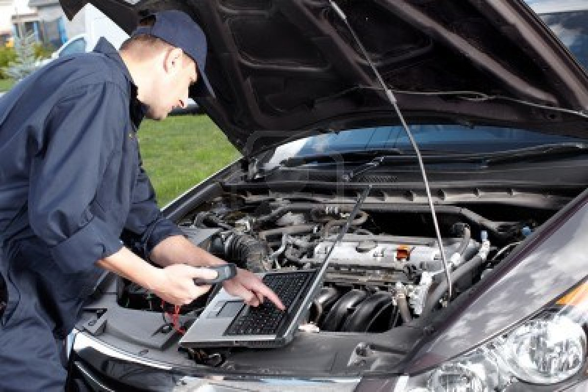 automotive service technicians and mechanics